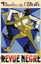 Poster by  Orsi - Theatre de l'Etoile la Revue Nègre