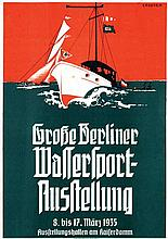 Poster by Georges Rogier - Große Berliner Wassersport-Ausstellung