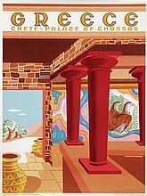 Poster by H Perakis - Greece Crete-Palace of Cnossos