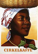 Poster by Gunnar Orrby - Cirkelkaffe