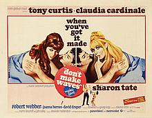 Poster by  Anonymous - Movie: Tony Curtis & Claudia Cardinale in