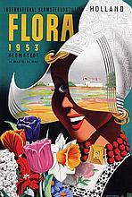 Poster by Reyn Dirksen - Flora Heemstede