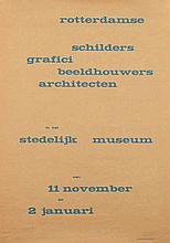 Poster by  Willem J.H.B. Sandberg (attr. 1897-1984) - rotterdamse schilders grafici beeldhouwers architecten