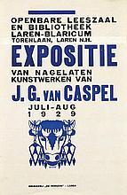 Posters (3) by Johan Briedé - Expositie J.G. van Caspel Laren