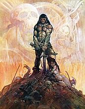 Poster by Frank Frazetta - Conan the Adventurer