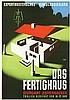 Poster by Walter E. Müller - Exportmusterschau Stuttgart Das Fertighaus, Adolphe Mouron Cassandre, €120
