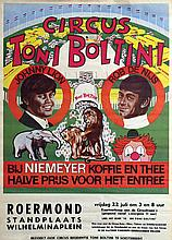 Poster by  Anonymous - Rob de Nijs in Circus Toni Boltini Roermond