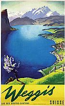 Poster by Otto Landolt - Weggis Suisse