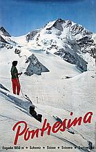 Poster by Jules Geiger - Pontresina