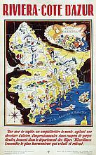 Poster by Simone Garnier - Riviera-Cote d'Azur