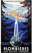 Poster by Adrien Sénéchal - Plombières Les Bains (Vosges)