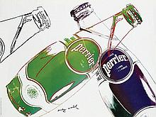 Poster by Andy Warhol - Perrier