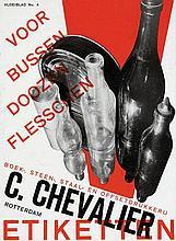 Poster by Paul Schuitema - C. Chevalier Etiketten