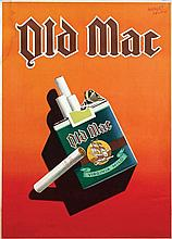 Poster by Herbert Leupin - Old Mac Virginia Mild