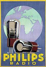 Poster by Louis C. Kalff - Philips Miniwatt Radio
