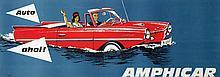 Poster by  Piskalla - Amphicar Auto ahoi!
