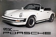 Poster by  Anonymous - Porsche 911 SC Cabriolet