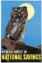 Poster by  Initials D.A.C. - National Savings to Prosperity