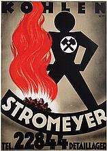 Poster by Emil Schuhmacher - Kohlen Stromeyer