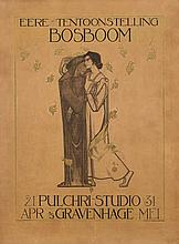 Poster by Richard N. Roland Holst - Eere-Tentoonstelling Bosboom
