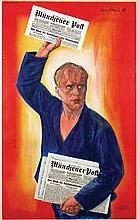 Poster by Hans Scheil - Münchener Post