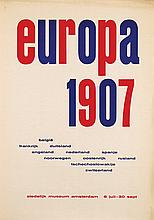 Poster by Willem J.H.B. Sandberg - europa 1907