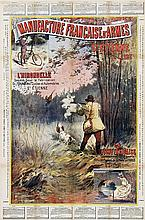 Poster by M. Moisand - Manufacture Française d'Armes (Pheasant)