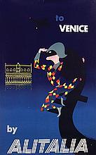 Poster by Studio Mario Ceini - Venice by Aliatalia