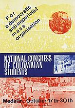 Poster by  Anonymous - National Congress of Colombian students Medellín