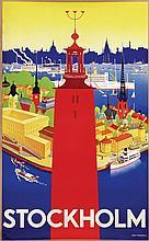 Poster by Nils O.I. Donnér - Stockholm