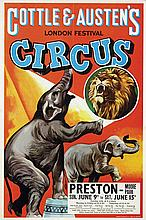 Poster by  Anonymous - Cottle & Austen's Circus