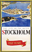 Poster by Olle Nyman - Stockholm 700 Years