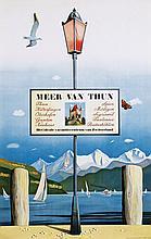 Poster by Richard Gerbig - Meer van Thun