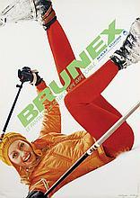 Poster by Edgar Küng - Brunex Le Pantalon de Ski