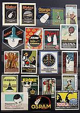 Poster by  various artists - Collection of ca. 450 Poster Stamps