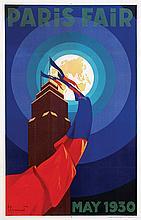 Poster by Pièrre Commarmond - Paris Fair