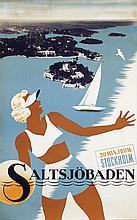 Poster by  Anonymous - Saltsjöbaden Stockholm