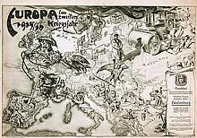 Poster by Richard Eddelbüttel - Europa im zweiten Kriegsjahr
