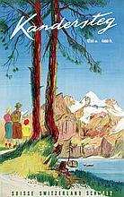 Poster by Pièrre Monnerat - Kandersteg
