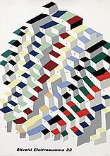 Poster by Giovanni Pintori - Olivetti Elettrosumma 22