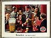 Poster by Frans Mettes - Heineken het meest getapt!