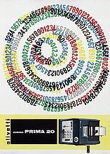 Poster by Giovanni Pintori - olivetti summa Prima 20