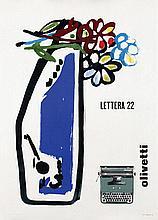 Poster by Giovanni Pintori - Olivetti Lettera 22