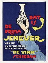 Poster by Willy Sluiter - Jenever