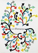 Poster by Giovanni Pintori - Olivetti Tetractys
