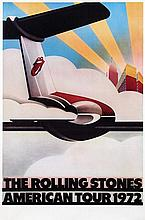 Poster by  John Pashe - The Rolling Stones American Tour