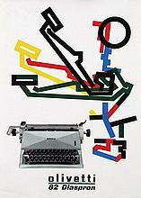 Poster by Giovanni Pintori - olivetti 82 Diaspron