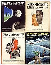 Posters (19) by  Various artists - Gebrauchsgraphik International Advertising Art