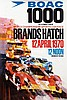 Posters (2) by Dexter Brown - BOAC 1000 km Brands Hatch