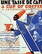 Poster by Roger de Valerio - A Cup of Coffee Joseph Meyer
